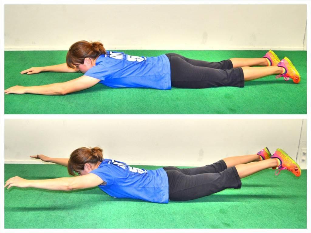 Упражнения для растяжки и укрепления поясницы