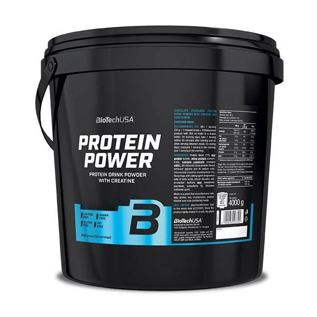 Biotech protein power — купить в москве в магазине спортивного питания pitprofi.ru