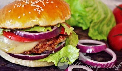 Гамбургеры (бургеры), 40 рецептов, фото-рецепты / готовим.ру