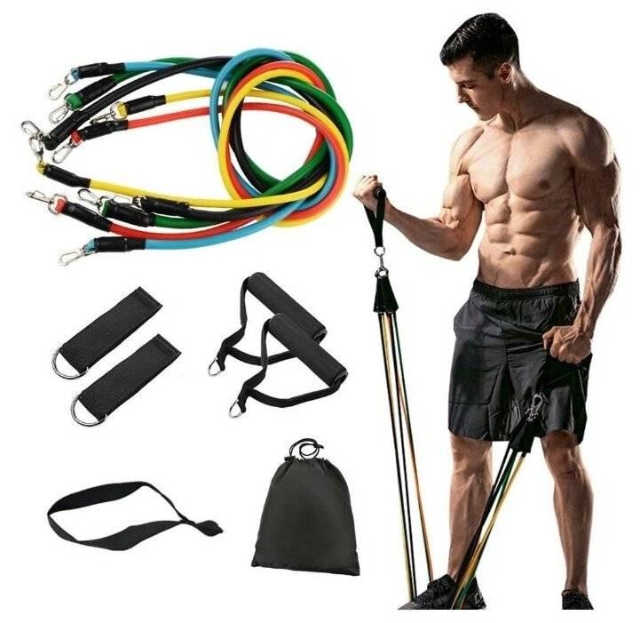 Трубчатый эспандер: упражнения для мужчин и женщин