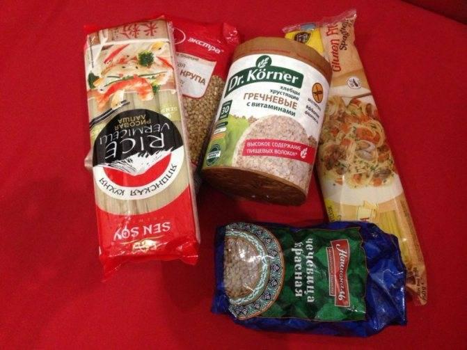 Безглютеновая диета: список продуктов, меню, советы