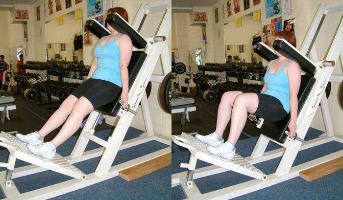 Гакк-приседания в тренажёре со штангой: какие мышцы работают, вредят ли коленям, техника выполнения, чем заменить