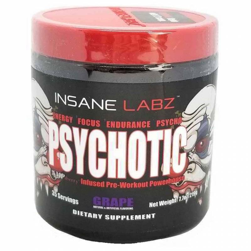 Psychotic (психотик) insane labz пробник (1 порция)