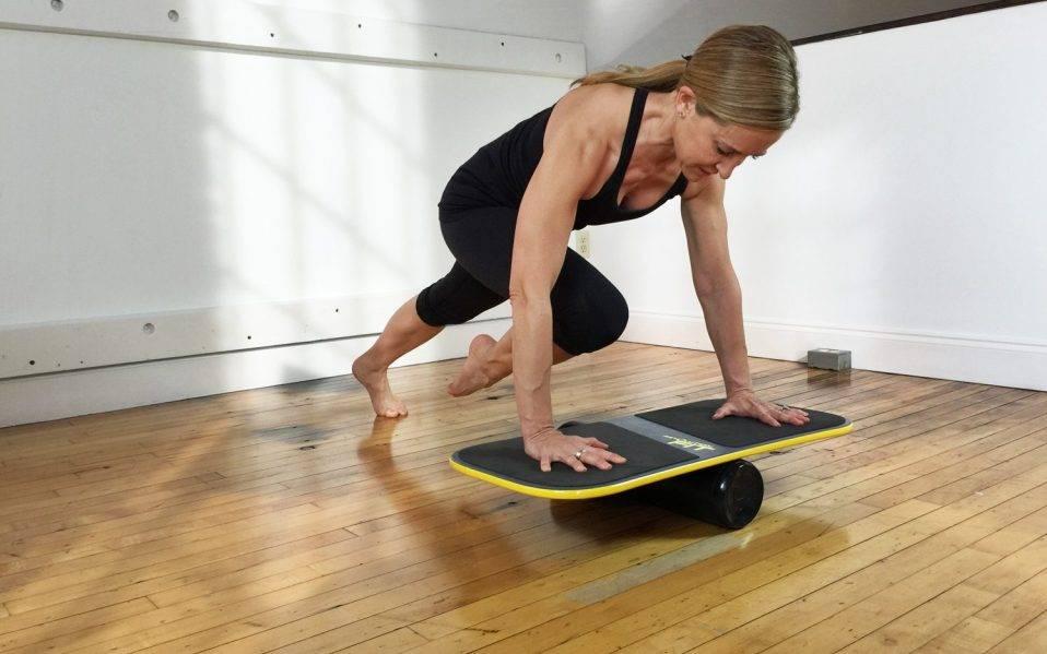 Баланс борд: упражнения, польза и особенности тренировок