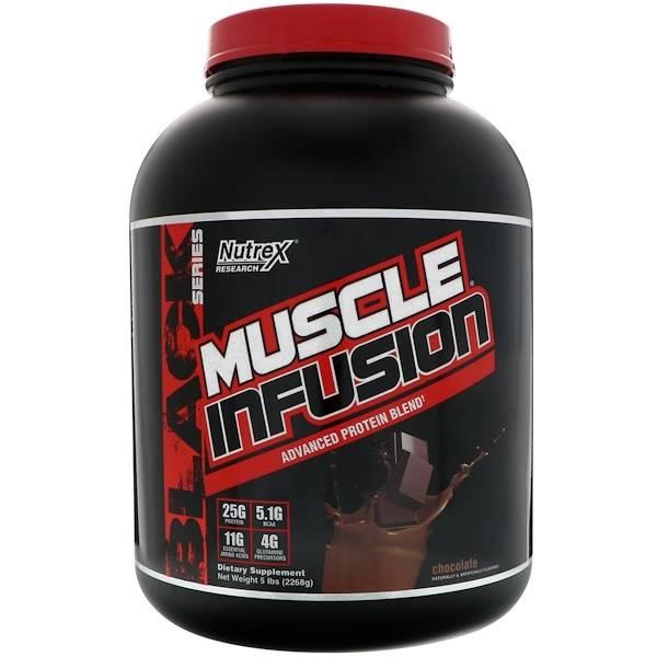 Лучшее спортивное питание для набора мышечной массы