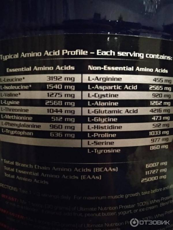 Пробник prostar 100% whey protein 30 гр (ultimate nutrition)