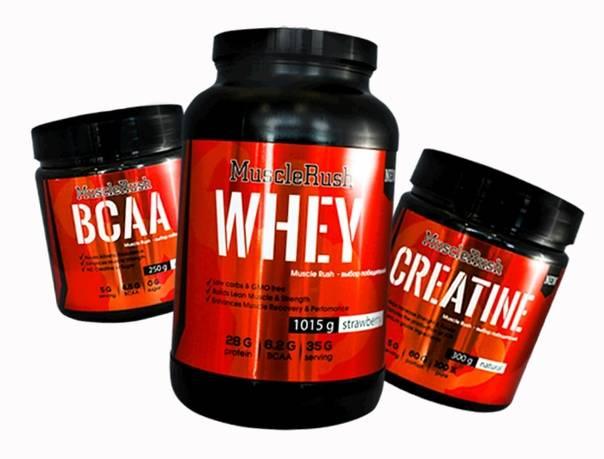 Гейнер, протеин и другое спортивное питание для набора массы