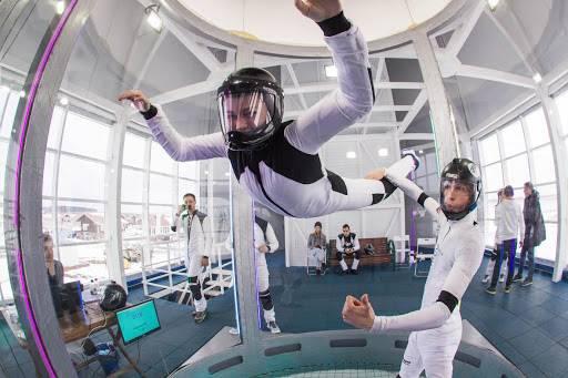 Бег и полеты в аэродинамической трубе: польза комплексной тренировки