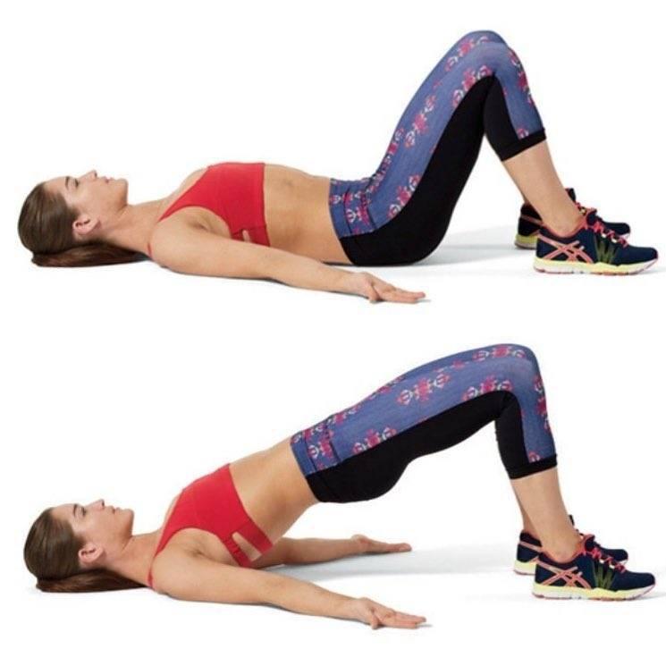 Ягодичный мост: упражнение,техника, мышцы, отзывы, польза, мостик, виды, упражнение, как делать, что такое