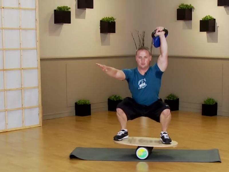 Баланс борд – для чего он нужен, как выбрать, лучшие упражнения