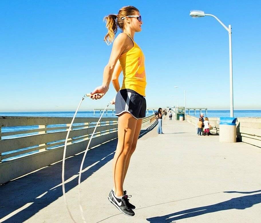 Прыжки со скакалкой для похудения - быстрый результат, минимум затрат