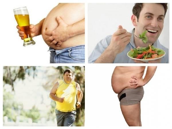 Как убрать пивной живот у мужчин и женщин: упражнения с видео и диеты