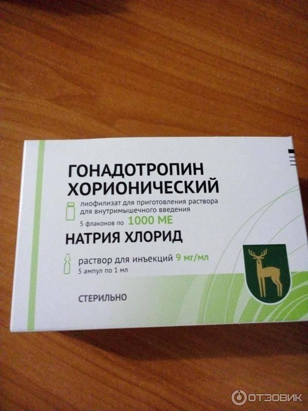 Хорионический гонадотропин человека (хгч)