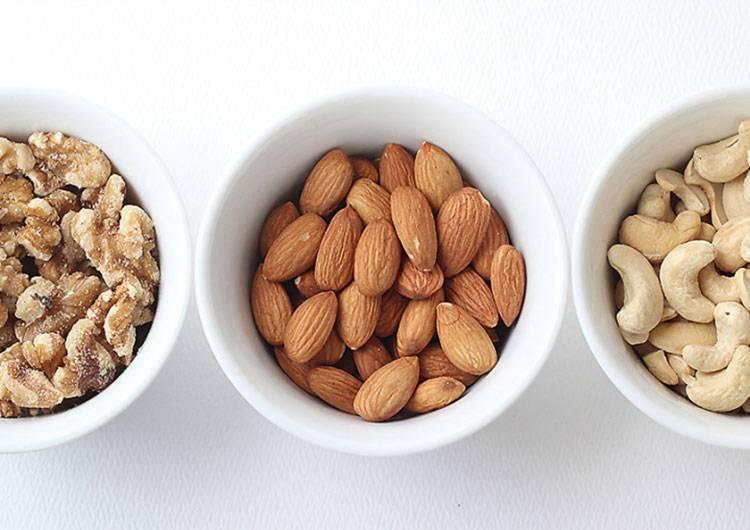 Полезные свойства орехов: грецкого, кедрового, фундука, миндаля, кешью, пекан, фисташки, арахиса