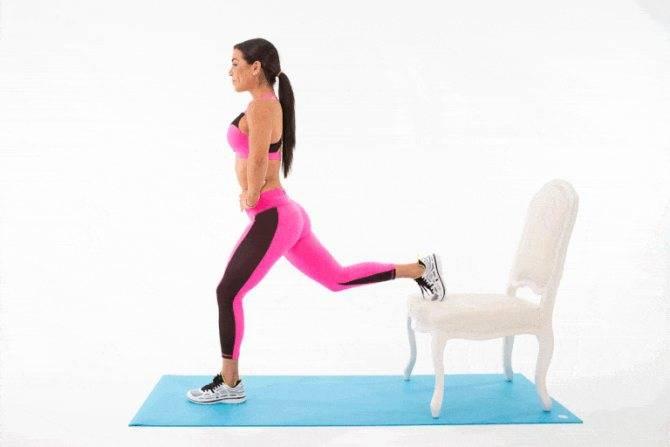 Выпады назад: какие мышцы работают, виды выпадов, техника выполнения и советы