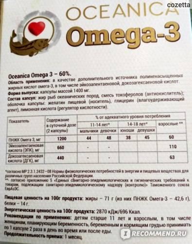 Омега-3: стоит ли принимать? - поленова наталья валерьевна