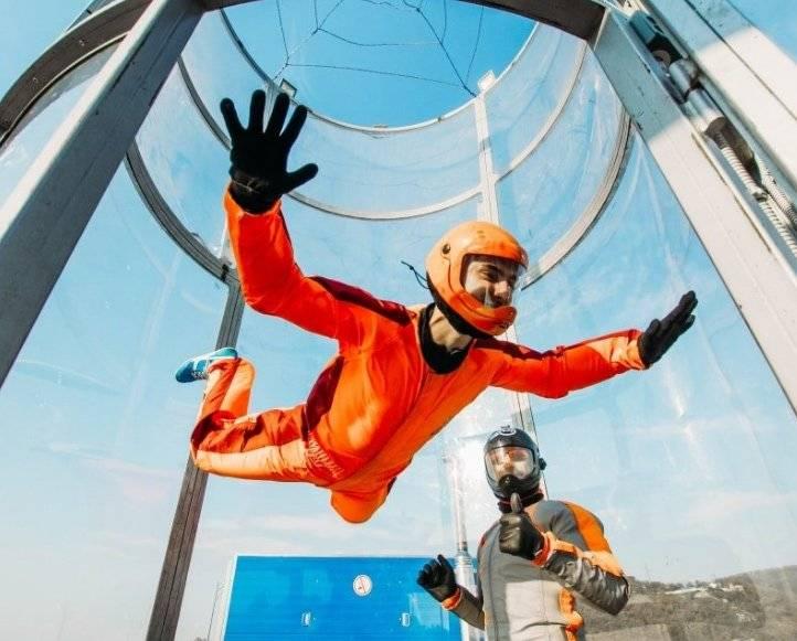 Аэротруба – новый вид спорта, свободный полет, сколько стоит полетать в аэродинамической трубе?
