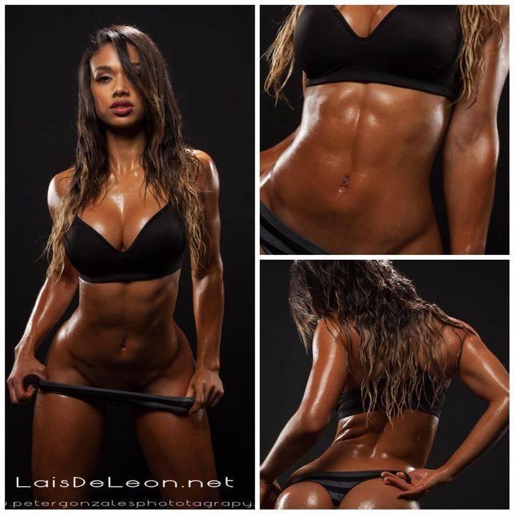 Плечи как у фитнес-модели лаис де леон
