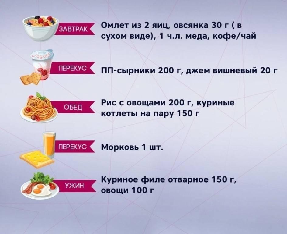 Сколько раз в день нужно есть и как рассчитывать размер порций?