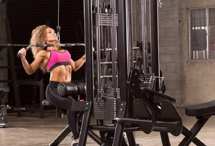 Тяга верхнего и нижнего блоков сидя - техника и видео | fitbreak! всё о фитнесе и бодибилдинге