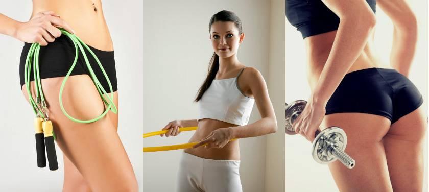 Упражнения от целлюлита на ногах, попе, бедрах и ягодицах: в домашних условиях, тренажёрном зале и бассейне