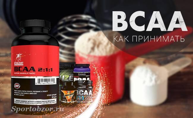 Bcaa для мышц - для чего нужен и как принимать