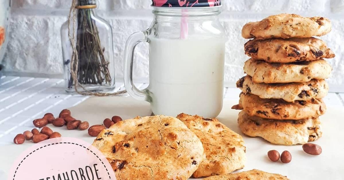 Рецепт печенье протеиновое без сахара. калорийность, химический состав и пищевая ценность.