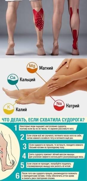 Судороги ног: причины и лечение, что делать, если сводит ноги - напоправку – напоправку
