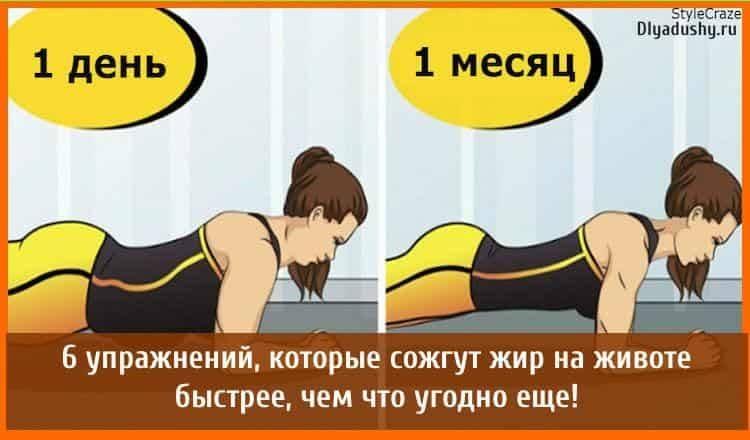 Сжигание жира: какие упражнения помогают избавиться