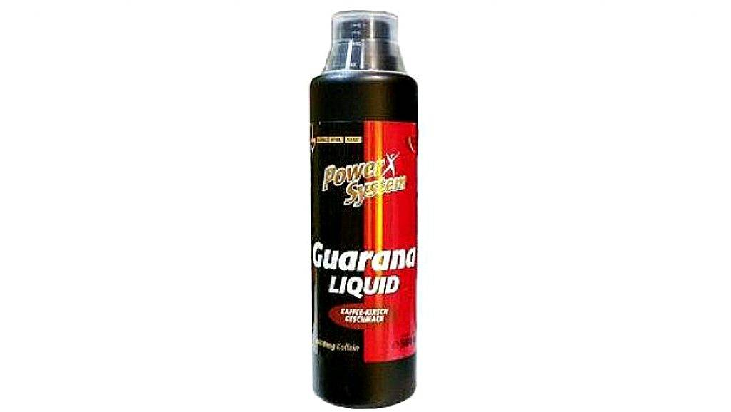 Guarana liquid от power system: как принимать, состав и отзывы