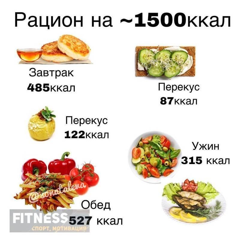 Рацион на 1500 ккал - рейтинг компаний в москве 2021
