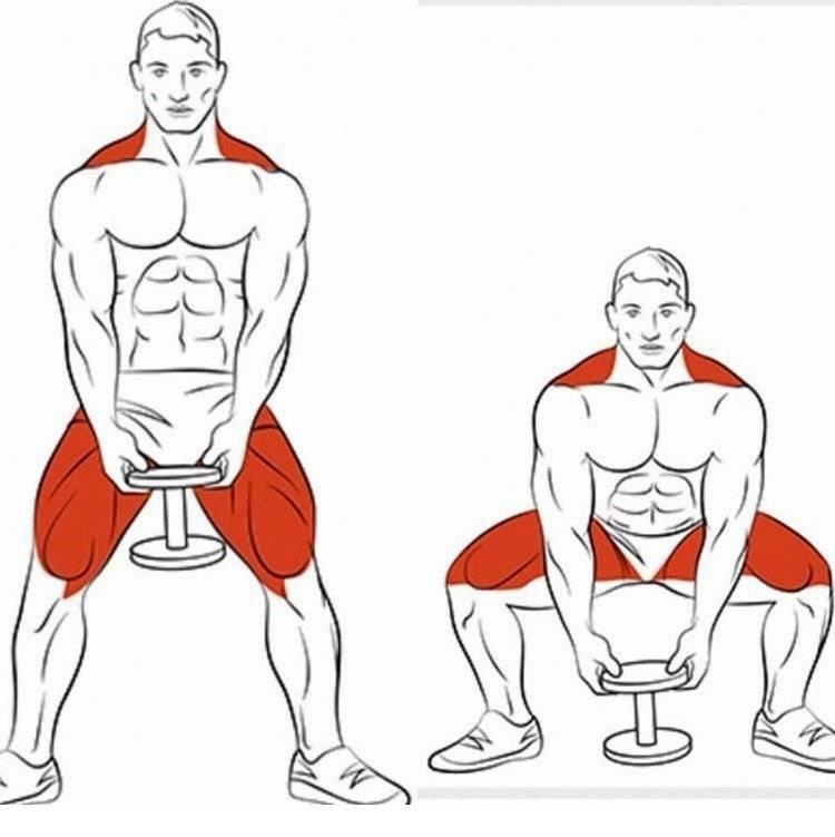 Упражнения для тренировки ног в домашних условиях мужчинам