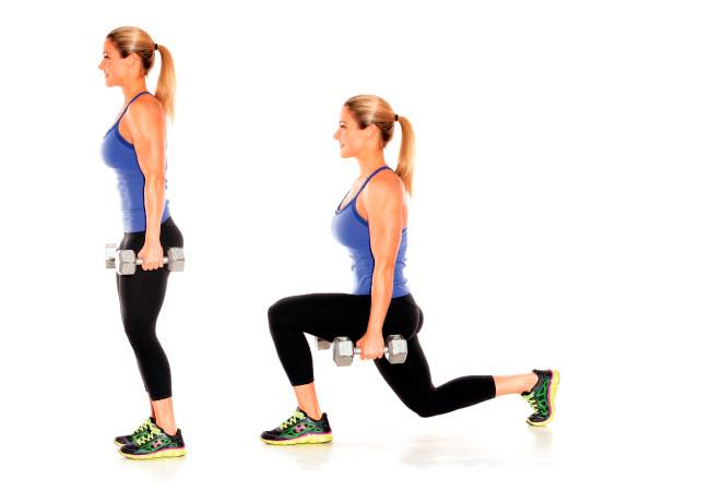 Выпады со штангой на плечах техника, работающие мышцы