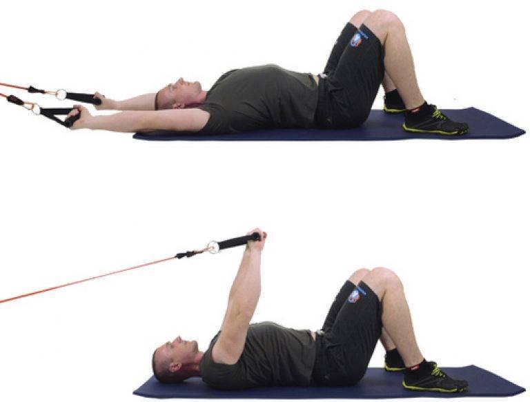Комплексы упражнений с резинкой для мужчин, правила повышения нагрузки