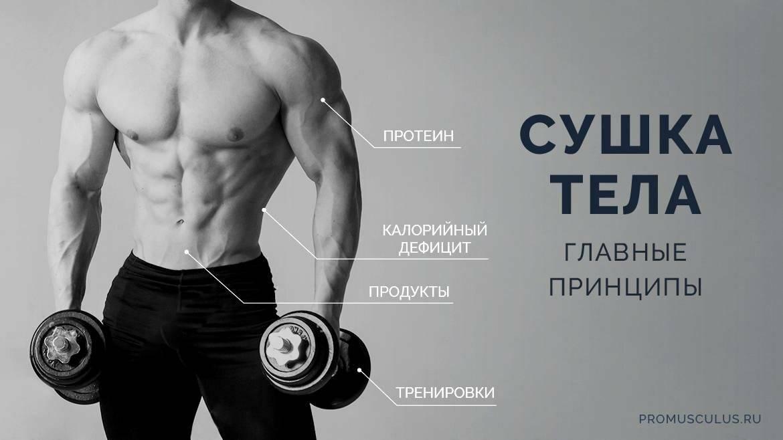 Сушка тела для мужчин в домашних условиях: топ советов спортцмена
