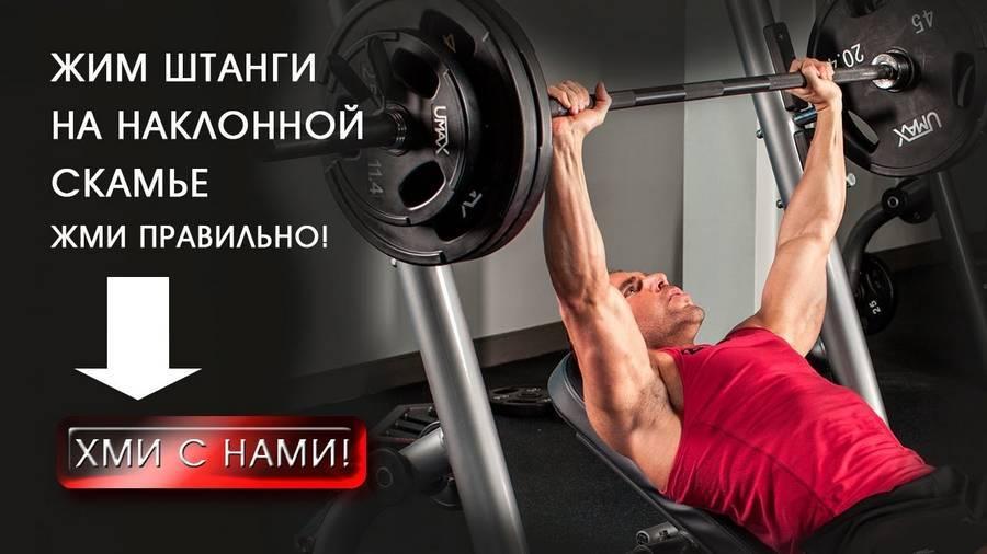 Жим гильотина! офигенное упражнение для роста вашей груди