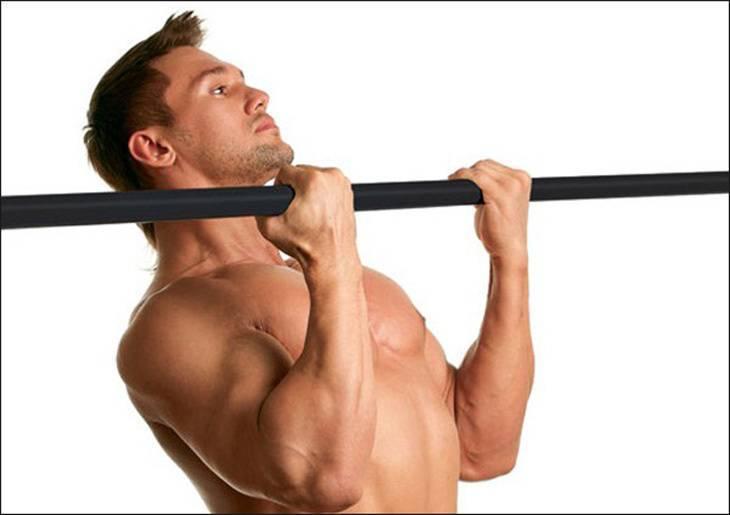 Подъем штанги обратным хватом: какие мышцы работают, техника выполнения стоя