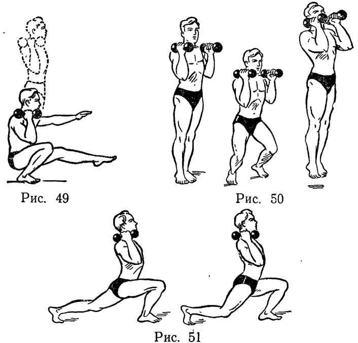 Эффективные упражнения с гантелями для женщин   proka4aem.ru