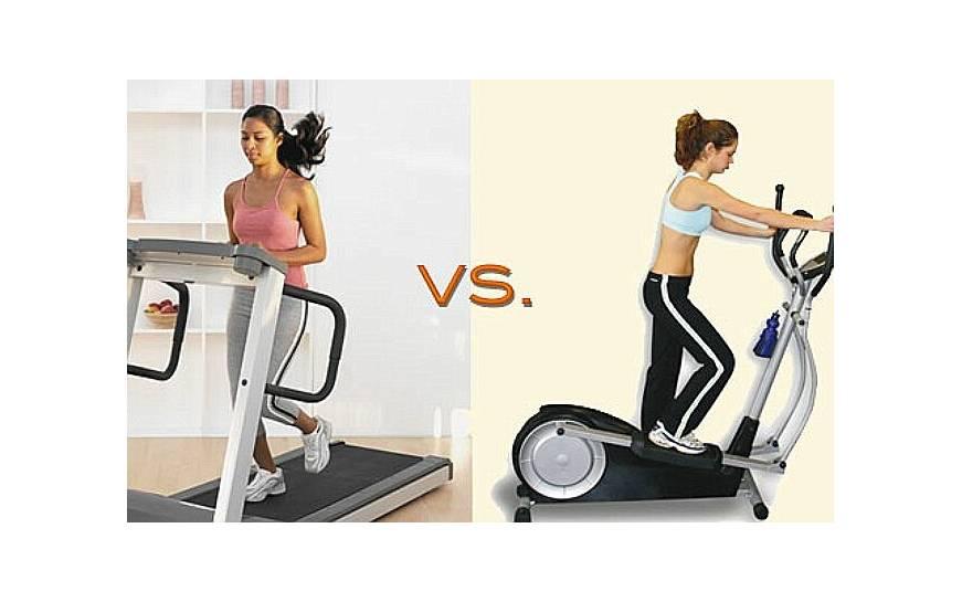 Что лучше - беговая дорожка или эллиптический тренажер, какое сооружение эффективнее и полезнее