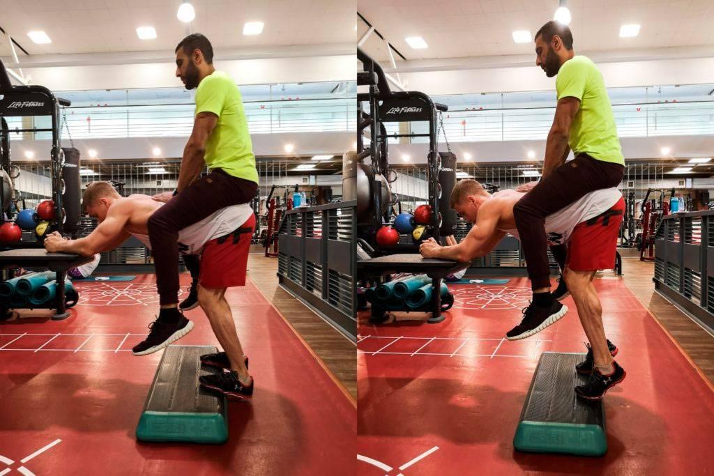 Тренировка трицепса методами старой школы » спортивный мурманск