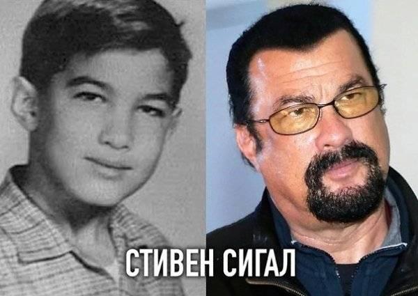 Фото звезд в молодости и сегодня