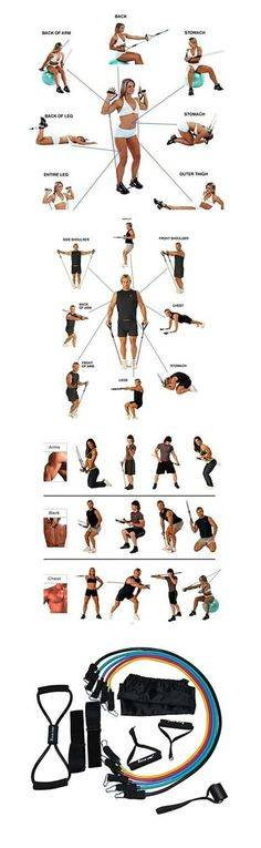 Топ 13 самых эффективных упражнений для занятий с резиновым эспандером