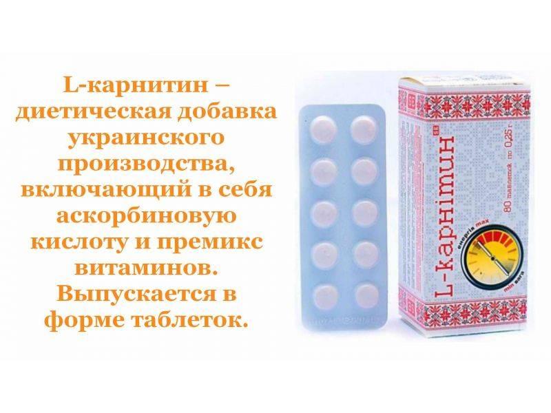 L-карнитин – для чего он нужен? суточная доза l-карнитина для мужчин
