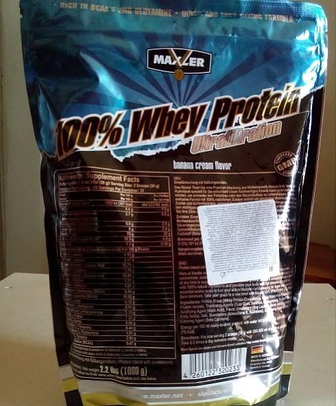 Протеин maxler ultrafiltration whey protein 2270 гр купить, состав, как принимать