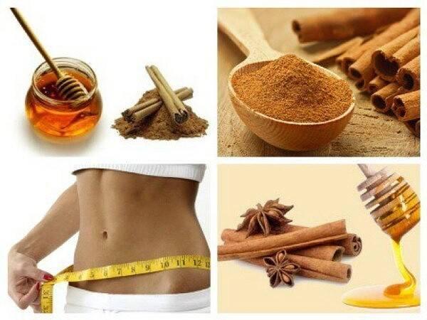 Рецепты из корицы с медом для похудения