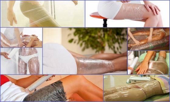 Обертывание для похудения в салоне красоты в спб   клиника бионика