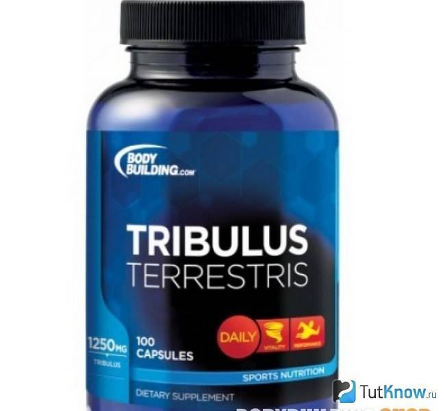 Tribulus terrestris 625 мг 100 капс (maxler)
