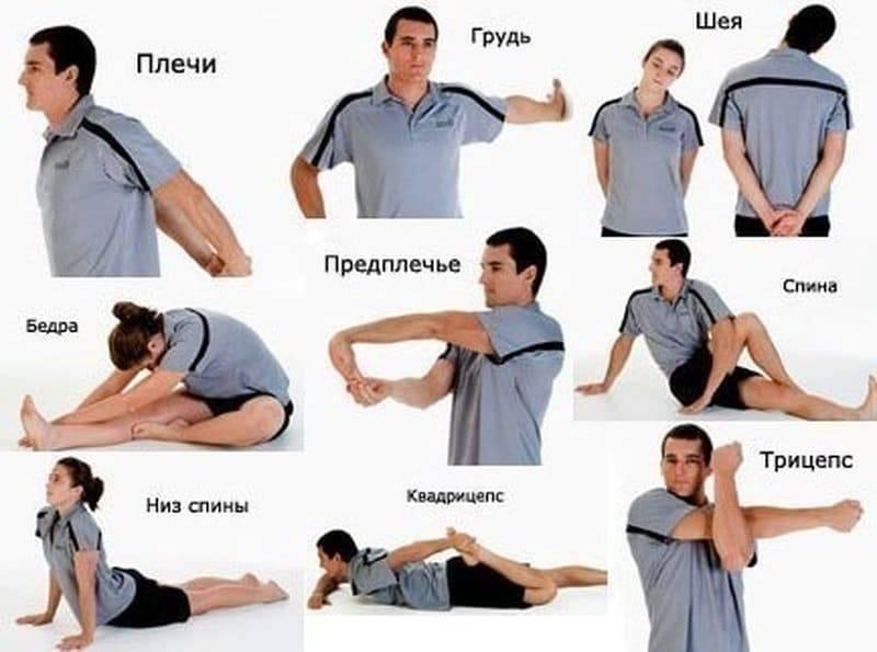 Как разогреть мышцы перед растяжкой на шпагат   разминка 7 минут