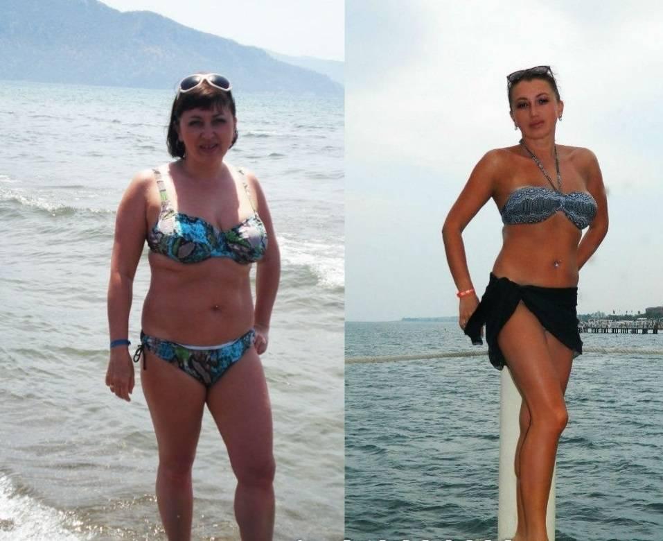История похудения без диеты с фото до и после