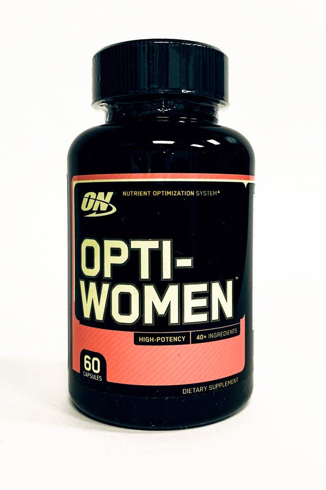 Opti - women 60 капс (optimum nutrition) срок годности 05/2021